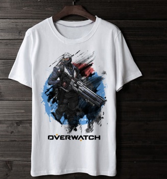 Blizzard Overwatch Soldier 76 T-Shirt