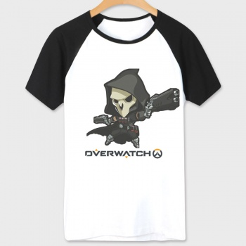 White Blizzard Overwatch Hero T-shirt For Couples
